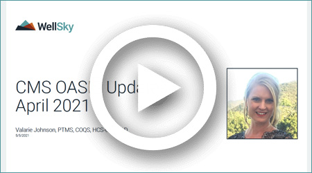 CMS OASIS Updates April 2021